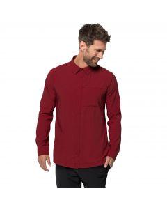 Męska koszula JWP LS SHIRT M dark lacquer red