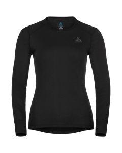 Damska koszulka termoaktywna Odlo ACTIVE WARM ECO LS Baselayer black