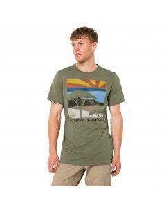 T-shirt męski SAVANNAH T M khaki