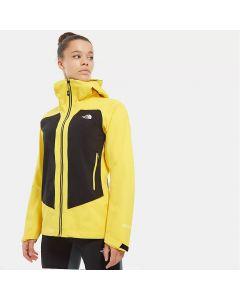Damska Kurtka The North Face Impendor C-Knit yellow/black