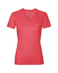 Koszulka damska CROSSTRAIL T WOMEN tulip red
