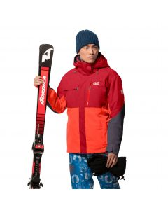 Kurtka narciarska męska GREAT SNOW JACKET M red fire