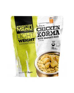 Żywność liofilizowana ADVENTURE MENU Kurczak Korma z ryżem Basmati 165g