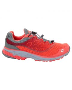 Buty ZENON TRACK LOW W hot coral
