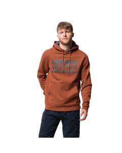 Bluza z kapturem męska BRAND HOODY M copper