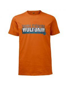 Koszulka SLOGAN T MEN desert orange