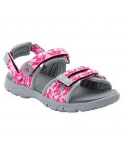 Sandały dziecięce 2 IN 1 SANDAL K pink / light grey
