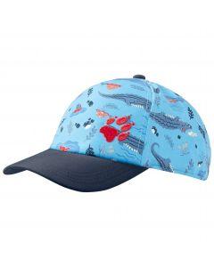 Czapka dziecięca SPLASH CAP KIDS sky blue allover