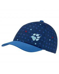 Czapka z daszkiem dla dzieci SPLASH CAP KIDS dark indigo allover