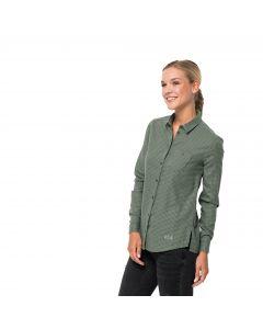 Koszula damska ALIN SHIRT ming green checks