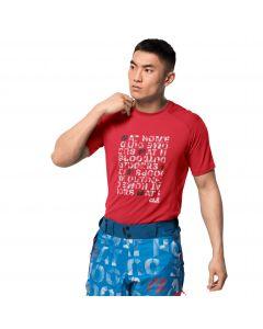 Męski T-shirt BIG SKY T M red fire