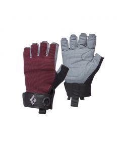 Rękawiczki wspinaczkowe Black Diamond CRAG HALF-FINGER bordeaux