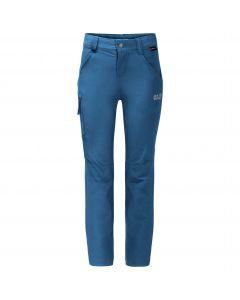 Spodnie sofsthell dziecięce ACTIVATE PANTS KIDS indigo blue