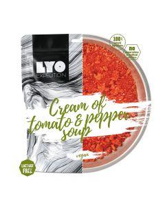 Liofilizat Lyofood ZUPA KREM pomidorowo-paprykowy 37g (na porcję 370g, 139 kcal)