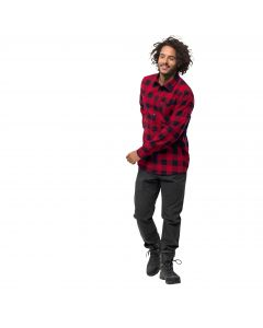 Koszula RED RIVER SHIRT indian red checks