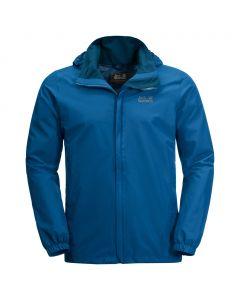 Przeciwdeszczowa kurtka męska STORMY POINT JACKET electric blue