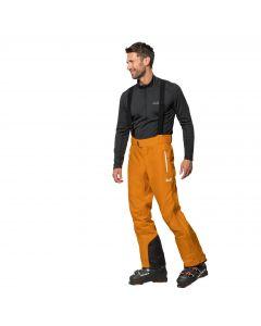 Spodnie narciarskie męskie EXOLIGHT MOUNTAIN PANTS M rusty orange