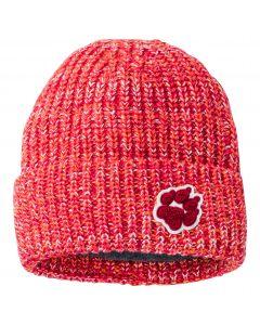 Czapka dziecięca FLUFFY PAW CAP K Tulip Red