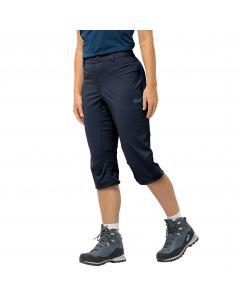 Spodnie softshell damskie ACTIVATE LIGHT 3/4 PANTS midnight blue
