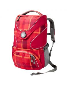 Plecak RAMSON TOP 20 PACK indian red woven check