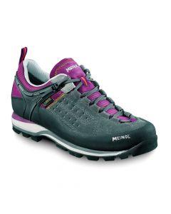 Damskie buty na wędrówki Meindl Literock violet