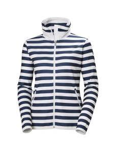 Damska kurtka polarowa Helly Hansen NAIAD FLEECE evening blue stripe