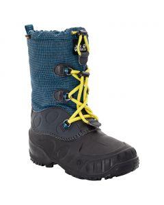 Buty zimowe dziecięce ICELAND TEXAPORE HIGH K blue / lime