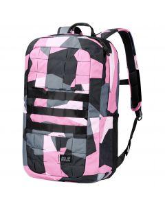 Plecak na laptopa TRT 18 PACK pink geo block