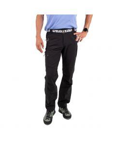 Męskie spodnie softshellowe Milo VINO black