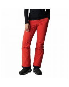 Damskie spodnie narciarskie Columbia Backslope II Insulated Pant bold orange