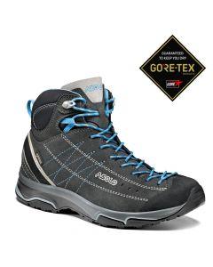 Damskie buty trekkingowe Asolo NUCLEON MID GV ML graphite/silver/cyan blue