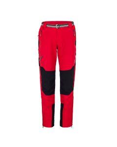 Spodnie turystyczne MILO BRENTA tomato red/black