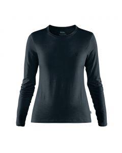 Koszulka termoaktywna Fjallraven Abisko Wool LS dark navy
