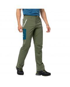 Spodnie softshell męskie OVERLAND PANTS M light moss