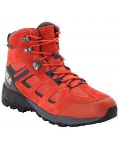 Buty trekkingowe męskie VOJO HIKE XT TEXAPORE MID M dark orange / black
