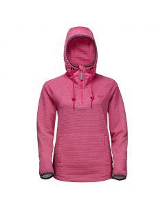 Kurtka polarowa TONGARI HOODY WOMEN tropic pink