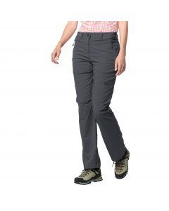 Spodnie softshell ACTIVATE LIGHT PANTS WOMEN dark iron