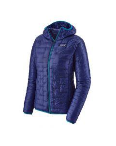 Damska kurtka puchowa Patagonia Micro Puff Hoody cobalt blue