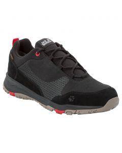 Męskie buty na wędrówki ACTIVATE XT TEXAPORE LOW M black / red