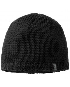 Czapka Jack Wolfskin  STORMLOCK KNIT CAP black