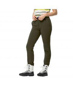 Spodnie zimowe damskie WINTER LIFESTYLE PANTS W Bonsai Green