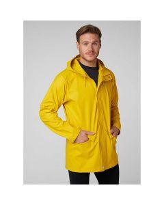 Płaszcz przeciwdeszczowy Helly Hansen Moss Rain Coat Essential Yellow