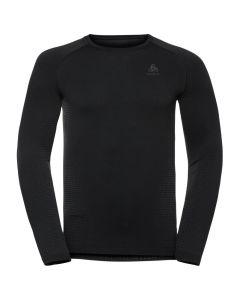 Męska koszulka Odlo PERFORMANCE WARM ECO LS Baselayer black/graphite grey