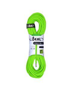 Lina wspinaczkowa pojedyncza Beal VIRUS 70 m / 10 mm solid green