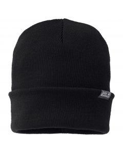 Czapka Jack Wolfskin  RIB HAT Black