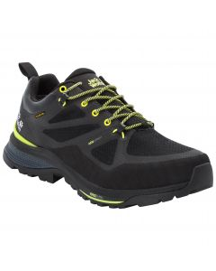 Buty w góry męskie FORCE STRIKER TEXAPORE LOW M black / lime