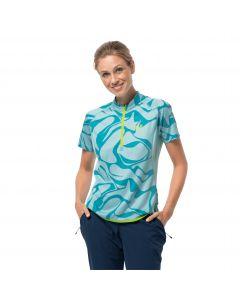 Koszulka rowerowa damska GRADIENT T W powder blue all over