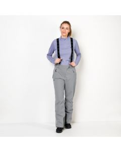 Spodnie EXOLIGHT PANTS WOMEN slate grey