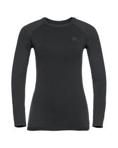 Damska koszulka Odlo PERFORMANCE WARM ECO LS Baselayer black/graphite grey