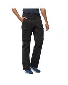 Spodnie softshell ACTIVATE LIGHT ZIP OFF MEN black
